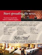 Tudor Hotel Ad